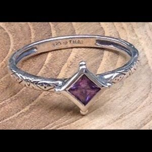 Silpada Belle Fleur Ring R2748 Size 8